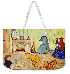 Classic Winnie The Pooh And Friends Weekender Tote Bag