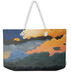 Cloud Rising Weekender Tote Bag