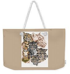 Cloudburst Weekender Tote Bag by Barbara Keith