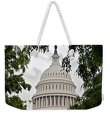 Clouds Over The Capitol Weekender Tote Bag