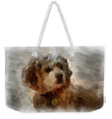 Cocker Spaniel Photo Art 01 Weekender Tote Bag by Thomas Woolworth