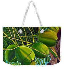 Coconuts At Sunset Weekender Tote Bag