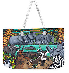 Colours Of Africa Weekender Tote Bag