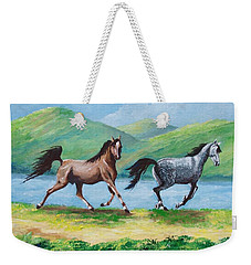 Colt And Mare Weekender Tote Bag
