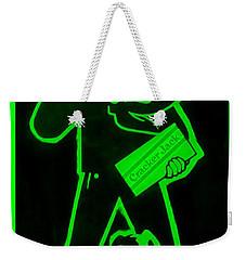 Crackerjack Green Weekender Tote Bag