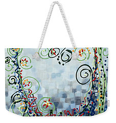 Crazy Love Jazz Weekender Tote Bag by Holly Carmichael