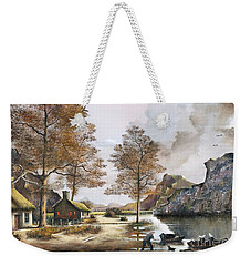 Crofters Cottages Weekender Tote Bag
