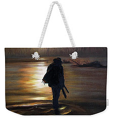 Crossing The River Weekender Tote Bag