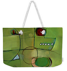 Weekender Tote Bag featuring the painting Cruising by Michelle Abrams