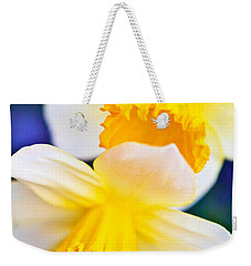 Weekender Tote Bag featuring the photograph Daffodils by Roselynne Broussard