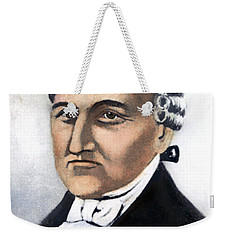 Weekender Tote Bag featuring the painting David Brearley (1745-1790) by Granger