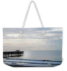 Weekender Tote Bag featuring the photograph Daybreak At Pawleys Island by Frank Bright