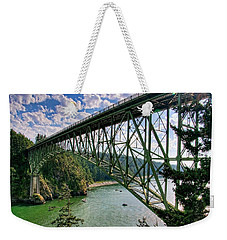 Deception Pass Weekender Tote Bag by Spencer McDonald