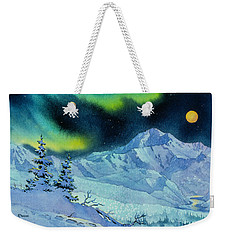 Denali Night Weekender Tote Bag