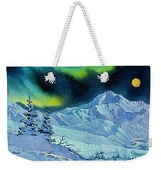 Denali Night Weekender Tote Bag by Teresa Ascone