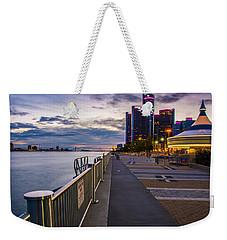 Detroit River Walk Weekender Tote Bag