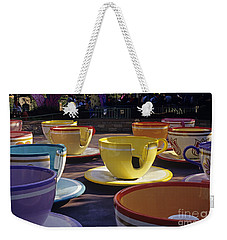 Disneyland Rides Mad Tea Party Ride Anaheim California Usa Weekender Tote Bag