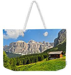 Dolomiti - High Fassa Valley Weekender Tote Bag