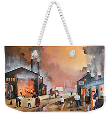 Dudleys By Gone Days Weekender Tote Bag