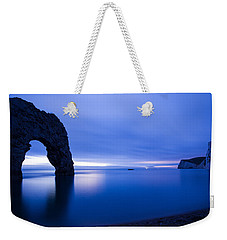 Durdle Door At Dusk Weekender Tote Bag
