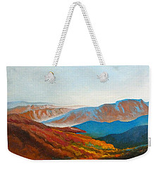 East Fall Blue Ridge Mountains 2 Weekender Tote Bag by Catherine Twomey