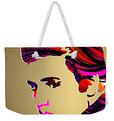 Elivs Gold Series Weekender Tote Bag by Marvin Blaine