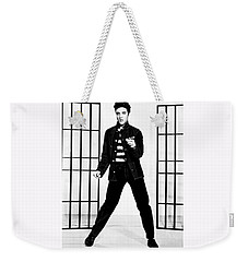 Elvis Presley Weekender Tote Bag by Doc Braham
