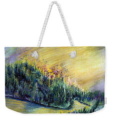 Enchanted Island Weekender Tote Bag