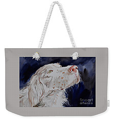 English Setter  Weekender Tote Bag