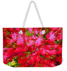 Explosion Of Spring Weekender Tote Bag