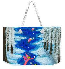 Faery Merry Christmas Weekender Tote Bag