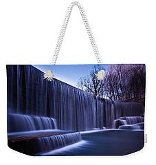 Falling Water Weekender Tote Bag by Mihai Andritoiu