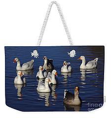 Family Goose Weekender Tote Bag