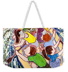 Family Vacation Weekender Tote Bag by Marilyn Jacobson