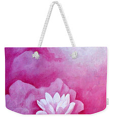 Fantasy Lotus Weekender Tote Bag
