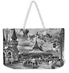 Weekender Tote Bag featuring the photograph Fantasyland by Howard Salmon