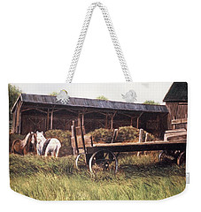 Farm Near Fenton Michigan Weekender Tote Bag