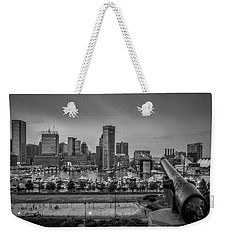 Federal Hill In Baltimore Maryland Weekender Tote Bag by Susan Candelario
