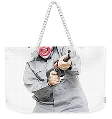 Female Psycho Killer Weekender Tote Bag by Jorgo Photography - Wall Art Gallery