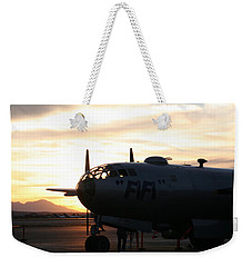 Weekender Tote Bag featuring the photograph Fi-fi by David S Reynolds