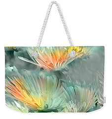 Weekender Tote Bag featuring the photograph Fiesta Floral by Alfonso Garcia