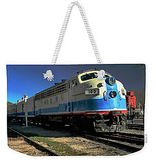 Weekender Tote Bag featuring the photograph Fillmore 100 by Michael Gordon