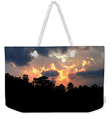 Fire In The Sky Weekender Tote Bag by Craig T Burgwardt