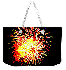 Fireworks Over Chesterbrook Weekender Tote Bag by Michael Porchik