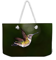 Flight Of A Hummingbird Weekender Tote Bag