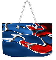 Floating On Blue 5 Weekender Tote Bag