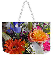 Floral Bouquet 5 Weekender Tote Bag