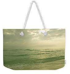 Weekender Tote Bag featuring the photograph Florida Beach by Charles Beeler