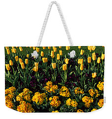 Flowers In Hyde Park, City Weekender Tote Bag