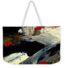 Flume Weekender Tote Bag by Dick Bourgault